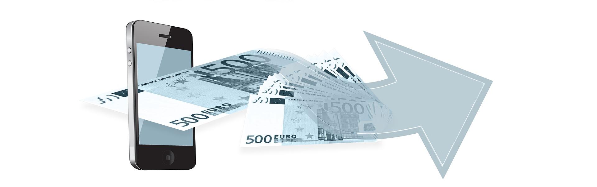 Pieniądze przez krótką wiadomość SMS