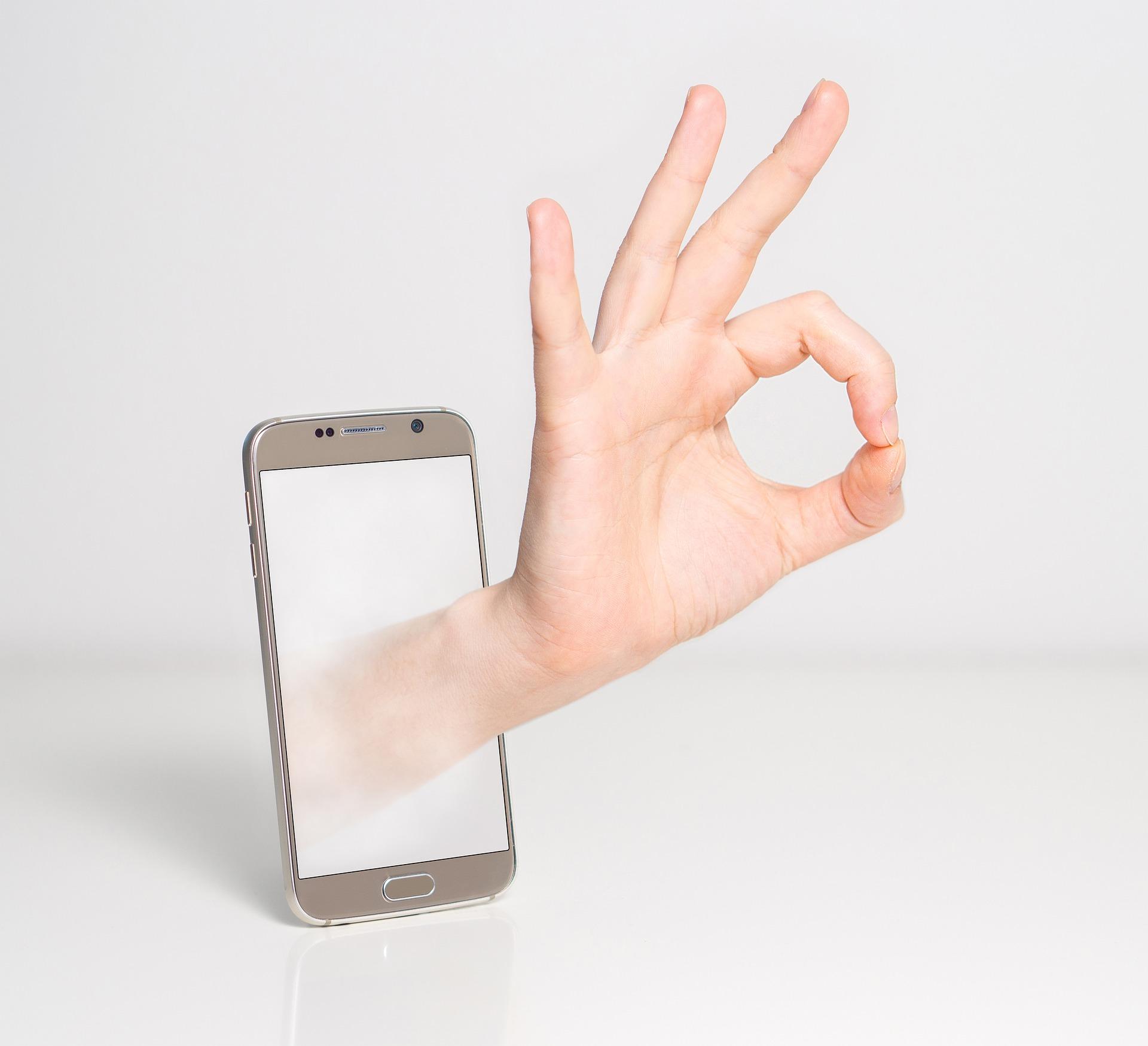 Kwestia ekranu w telefonie