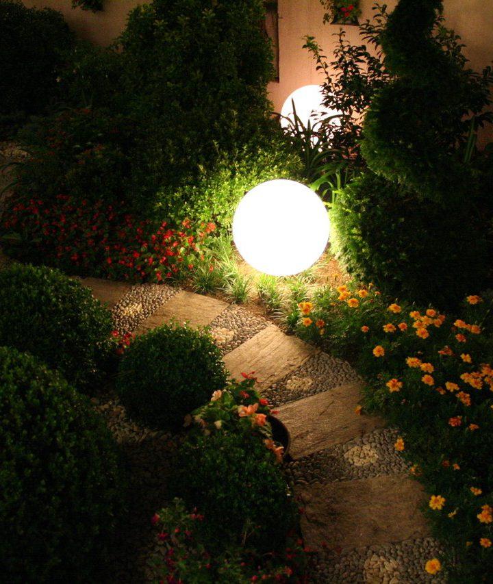Do ogrodu także możemy założyć lampy